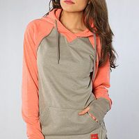 The Park Hoodie in Berry