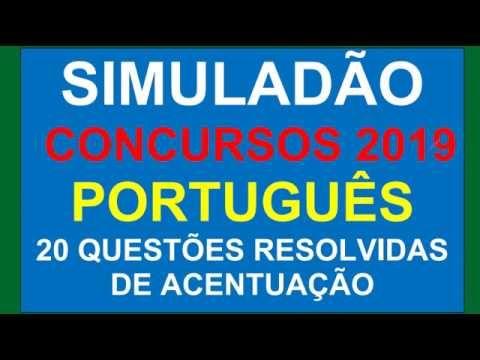Simulado De Portugues Para Concursos 2019 20 Questoes De