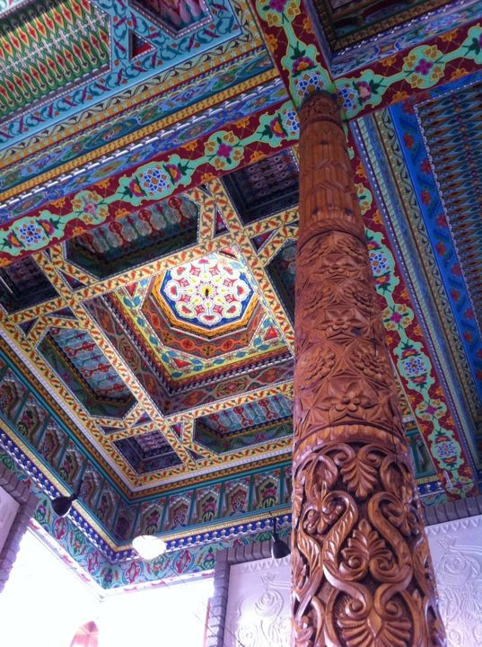 The Dushanbe Teahouse Was Created As A Gift To The City Of Boulder Colorado From Its Sister City Dushanbe The Cap Dushanbe Tea House Boulder Colorado Winter