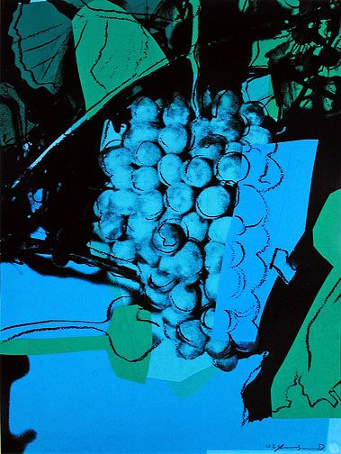 Andy Warhol, Grapes #193A (Special Edition)