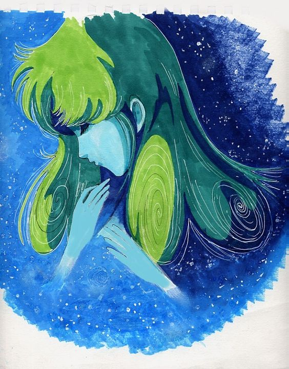 Misa in Space by saintelle by Robotech-Force.deviantart.com on @deviantART