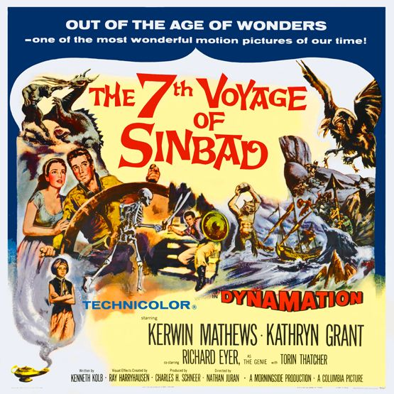 Image result for images of movie the 7th voyage of sinbad