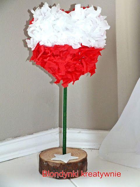Bialo Czerwone Inspiracje Plastyczne Art For Kids Crafts For Kids Crafts