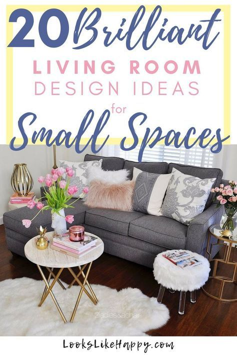Best Living Room Desgn Small Spaces Ideas Furniture 64 Ideas In 2020 Decorating Small Spaces Living Room Living Room Design Small Spaces Small Space Living Room