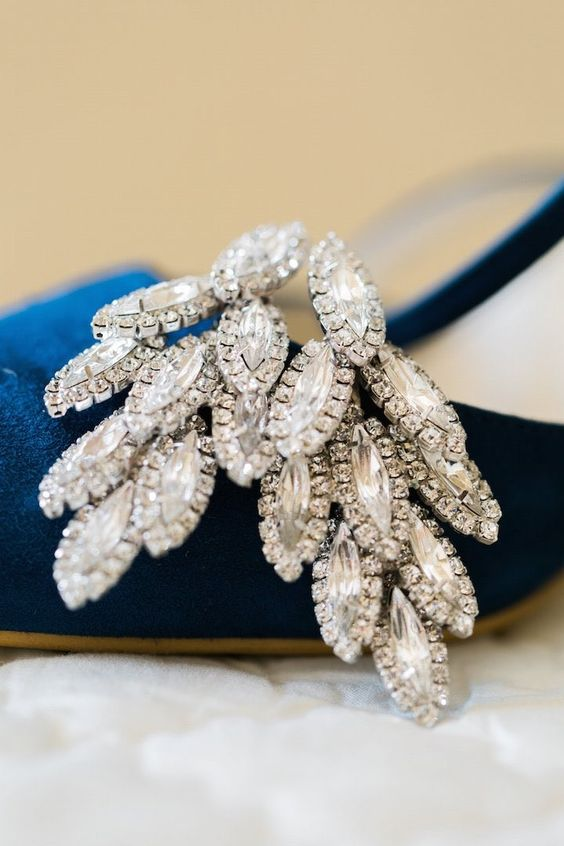 Chic wedding jewelry idea; photo: Dabble Me This Photography