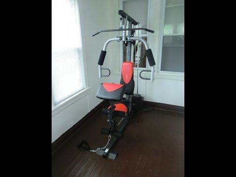 How To Assemble Weider 2980 X Weight System Youtube Home Gym System Weight