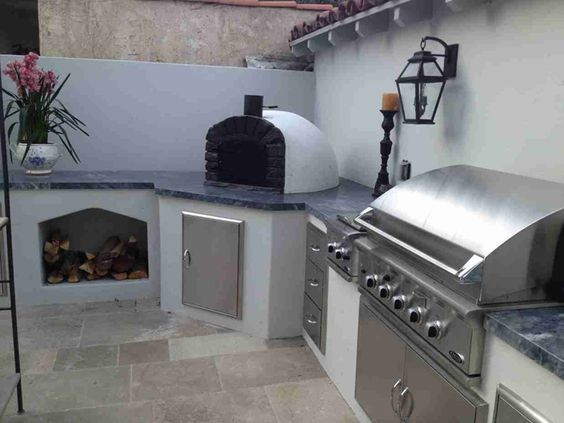11 Best images about four a pizza barbecue on Pinterest Design - Leroy Merlin Cuisine Exterieure
