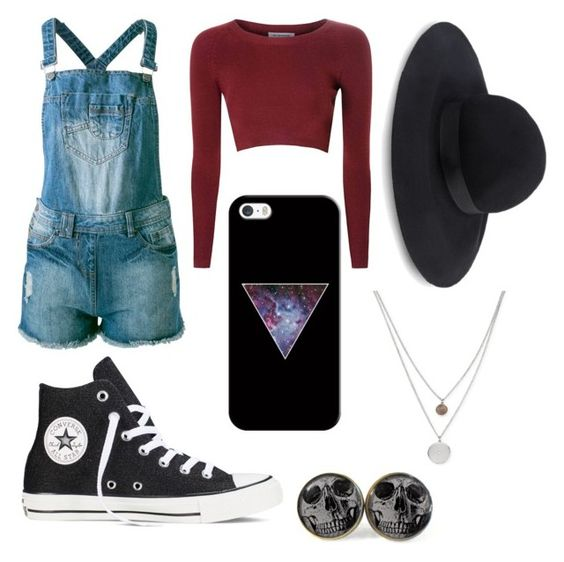 Saturday Detention Swagger by altoids17 on Polyvore featuring polyvore, fashion, style, Glamorous, Sally&Circle, Converse, Kenneth Cole, Topshop and Casetify