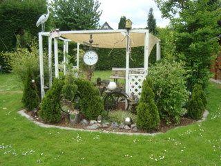 #Gartenoase mit #Gartenteich für den Urlaub zu Hause