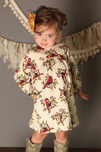 Pink Chicken - Bridget Dress Bird Print - The girlies - Pinterest ...