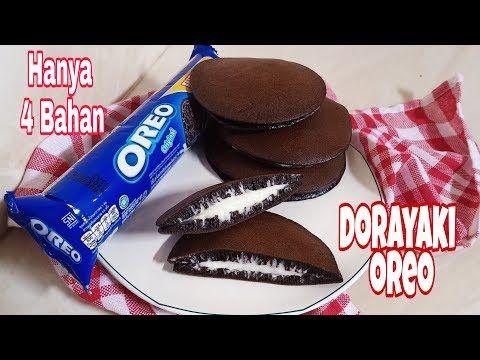 Resep Dorayaki Oreo Dorayaki 4 Bahan Super Lembut Dan Enak Youtube Kue Oreo Ide Makanan Makanan Ringan Gurih