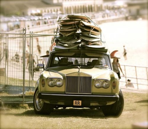 Rolls Royce - Surfing with style
