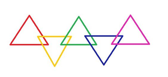 triangle gay singles Lgbt symbols communicate ideas,  the pink triangle was later reclaimed by gay people and sometimes lesbians in various political movements as well as a symbol of.