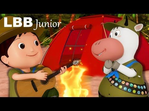 Going Camping Song Original Kids Songs By Lbb Junior Youtube Camp Songs Kids Songs Camping Theme