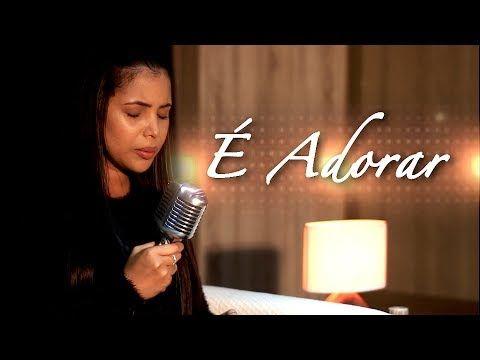E Adorar Amanda Wanessa Voz E Piano Youtube Musica De