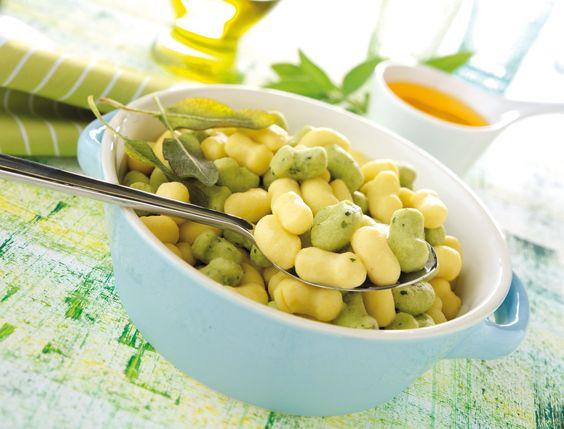 Gnocchetti Bicolore. #gnocchi #gnocchetti #pasta