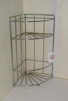 1 Wire Metal Corner Display 2 Tier Shelf Stand Unit Has