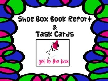 shoe box book report Choose any topic from your book and write a 1-2 page research report on it include a one paragraph explanation as to how it applies to your book (not in the paper itself make a shoe box diorama of a scene from the book you read.