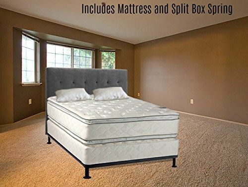 Continental Sleep Medium Plush Pillowtop Orthopedic Type Double Sided Mattress And Box Spring And Box Spring King Size Mattress Box Spring Sleep Mattress