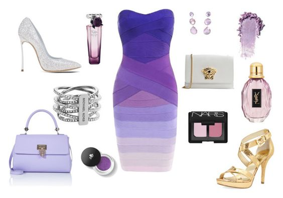 """""""Ombré Evenings #BelovedDesigns"""" by bethany-ruotolo on Polyvore"""