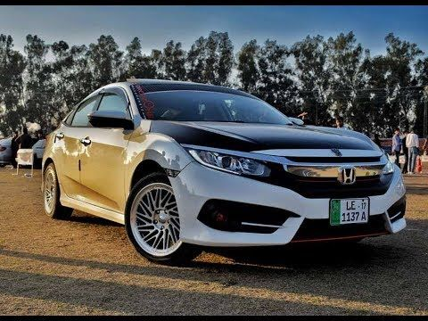 Muneeb Akram Honda Civic X Oriel Modified Car Pgc Motor Show Honda Civic Modified Cars Civic