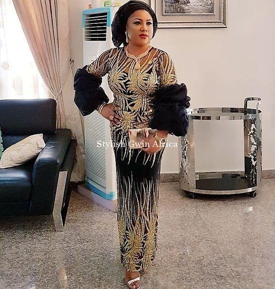 2018/2019 Beautiful Asoebi Styles