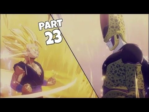 Cell Saga Dragon Ball Z Kakarot Gameplay Dragon Ball Z Dragon Ball Cell Saga