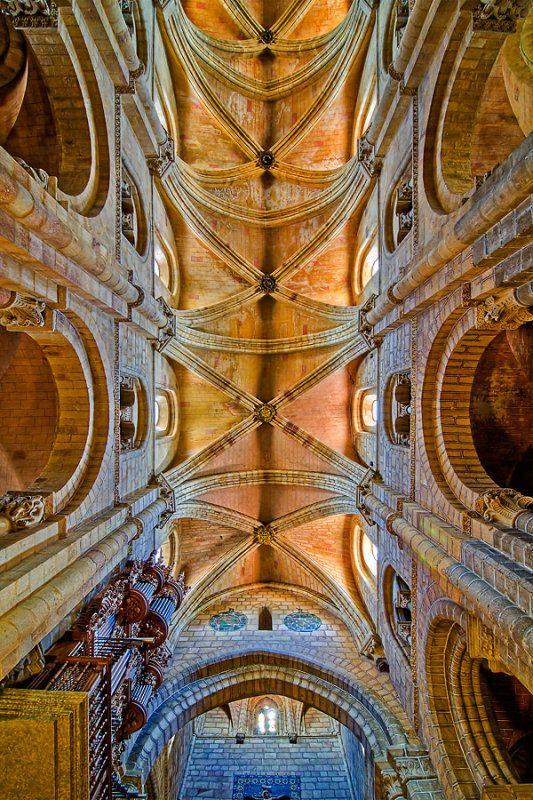 Ceiling Of The Basilica De San Vicente Avila By Chris Spracklen San Vicente Avila Basilica