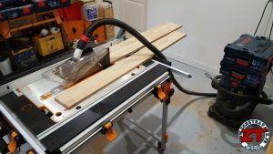 @tritontools : Workcenter TWX7 - Tutoriel : Fabriquer et installer des étagères en bois massif