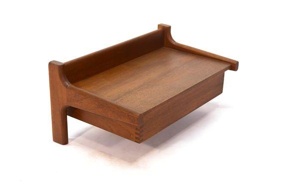 Danish Teak Floating Shelf by Dyrlund | Arroyo Artifacts