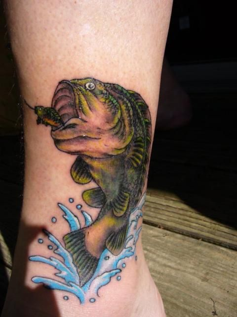 Pinterest the world s catalog of ideas for Hunting and fishing tattoos