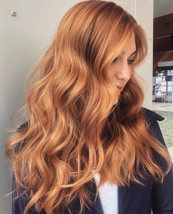 Salao Virtual In 2020 Red Blonde Hair Ginger Hair Color Strawberry Blonde Hair Color