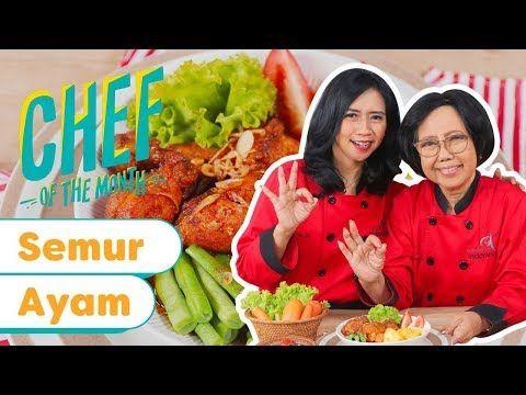Resep Semur Ayam Pedas Sisca Novia Soewitomo Chefofthemonth Nov 19 Endeus Tv Youtube Masakan Indonesia Resep Masakan