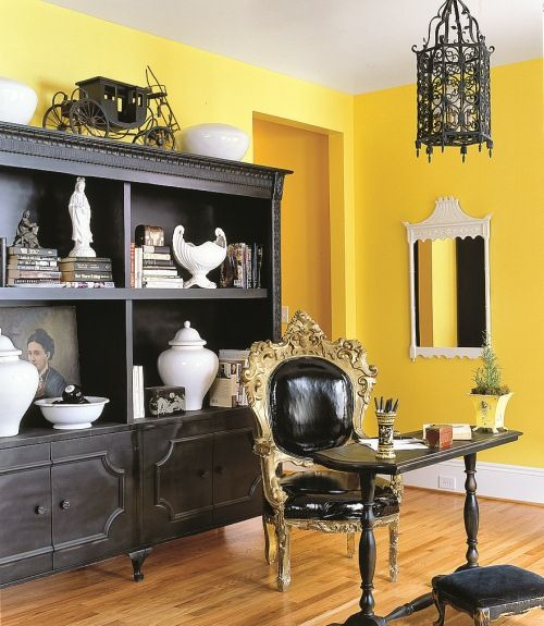 yellow decor decorating with yellow country living