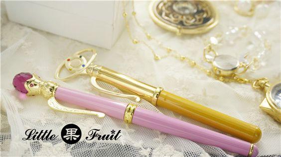 "truth2teatold: "" Little Fruit Inner Senshi transformation pen pre-order - Sailor Mercury, Sailor Mars, Sailor Jupiter, Sailor Venus """