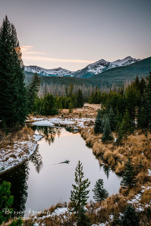 Rocky Mountain National Park Sunset Landscape Photography By Bessie Young Photogr Mountain Landscape Photography Sunset Landscape Photography Pretty Landscapes