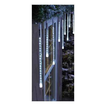 Philips 12ct Cool White Cascading Icicle String Lights