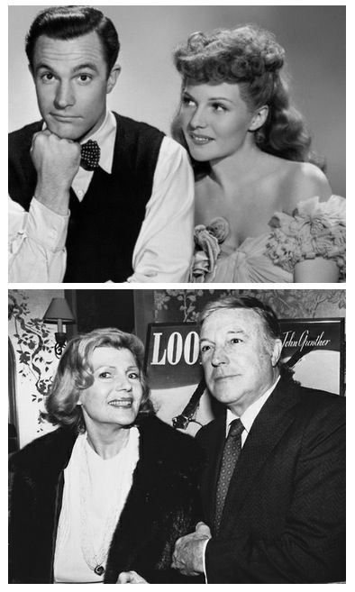 Rita Hayworth and Gene: 1944 and 1979. (Thank you for posting, random Hayworth fan on Tumblr.)