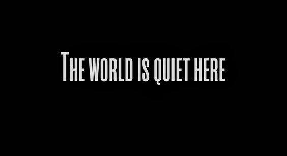 Fallen Angel: The world is quiet here