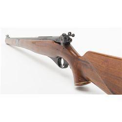 "Mossberg Model 151M semi-auto rifle, .22LR cal., 20"" barrel, blue finish, full length wood stock,"