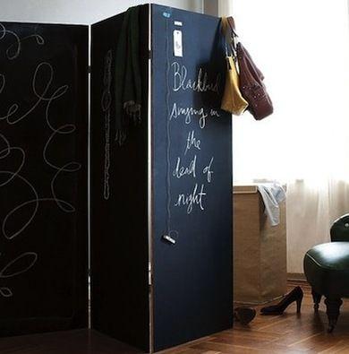 Room Divider Ideas - 10 Cool DIY Solutions - Bob Vila, possible headboard idea