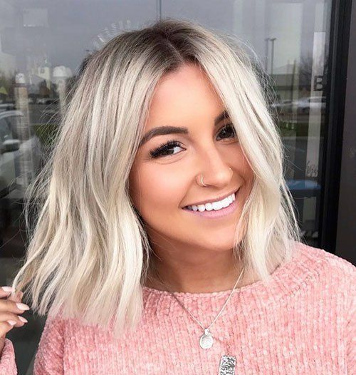 25 Stylish Bob Hairstyles You Must Have In 2020 Blonde Bob Hairstyles Hair Styles Hair Inspiration
