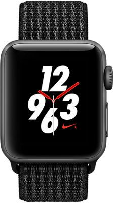 Apple Watch Series 3 Nike Aluminum 38mm Case With Sport Loop Apple Watch Nike Watches For Men Apple Watch