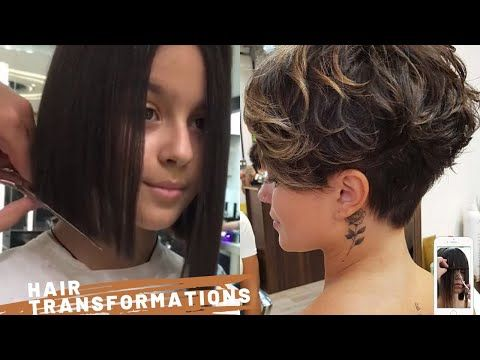 Long To Short Hair Transformations For Summer 2020 Youtube In 2020 Long To Short Hair Hair Transformation Short Hair Styles