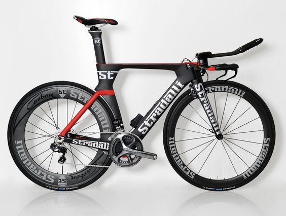 """Phantom II"" Full Carbon Time Trial Bike. Shimano Ultegra Di2 6870 11 Speed. Stradalli 50-85mm Carbon Wheels."