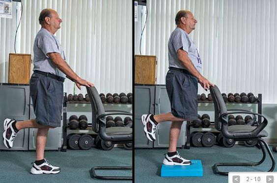 10 Exercises for Balance: Seniors can improve their balance by performing these specific exercises daily. Repinned by  SOS Inc. Resources  http://pinterest.com/sostherapy.