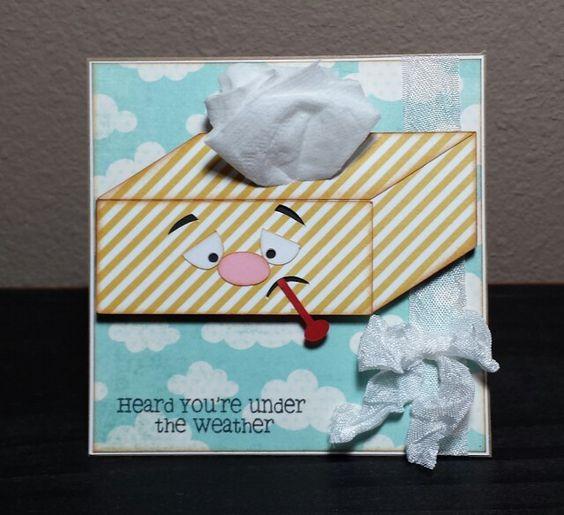 Handmade Get Well Soon Card Pretty Paper Pretty Ribbons svg