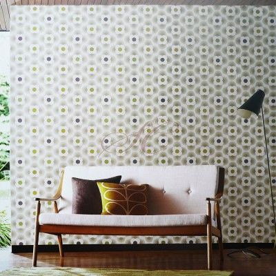 Harlequin Orla Kiely House Designer Wallpaper Multi Striped Petal 110407