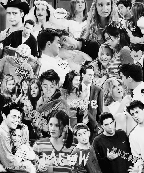 friends collage wallpaper - photo #10