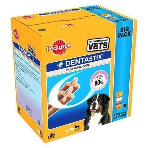 56 Sticks Pedigree Dentastix Medium Dog Treats Pedigree Feed Your